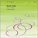 Download or print Murray Houllif Rock Talk Sheet Music Printable PDF 4-page score for Instructional / arranged Percussion Ensemble SKU: 125048.