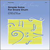 Download or print Murray Houllif Simple Solos For Snare Drum Sheet Music Printable PDF 11-page score for Classical / arranged Percussion Solo SKU: 124905.