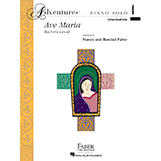 Download or print Nancy and Randall Faber Ave Maria Sheet Music Printable PDF 3-page score for Christian / arranged Piano Adventures SKU: 337861.
