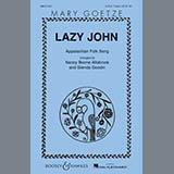 Download or print Nancy Boone Allsbrook Lazy John Sheet Music Printable PDF 9-page score for Folk / arranged 2-Part Choir SKU: 86507.