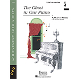 Download Nancy Faber 'The Ghost in Our Piano' Printable PDF 5-page score for Children / arranged Piano Adventures SKU: 356964.