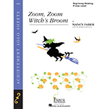 Download Nancy Faber 'Zoom, Zoom, Witch's Broom' Printable PDF 2-page score for Children / arranged Piano Adventures SKU: 356972.