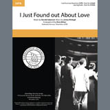 Download or print Nat King Cole I Just Found out About Love (arr. Dave Briner) Sheet Music Printable PDF 6-page score for Barbershop / arranged SATB Choir SKU: 406778.