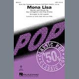 Download Nat King Cole 'Mona Lisa (from Captain Carey, U.S.A.) (arr. Ed Lojeski)' Printable PDF 6-page score for Pop / arranged SATB Choir SKU: 438940.