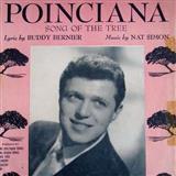 Download Nat Simon 'Poinciana' Printable PDF 5-page score for Jazz / arranged Piano Solo SKU: 124549.