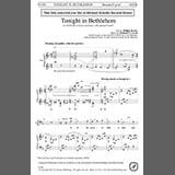 Download or print Nathaniel J. Fryml Tonight In Bethlehem Sheet Music Printable PDF 16-page score for Christmas / arranged Choir SKU: 374289.