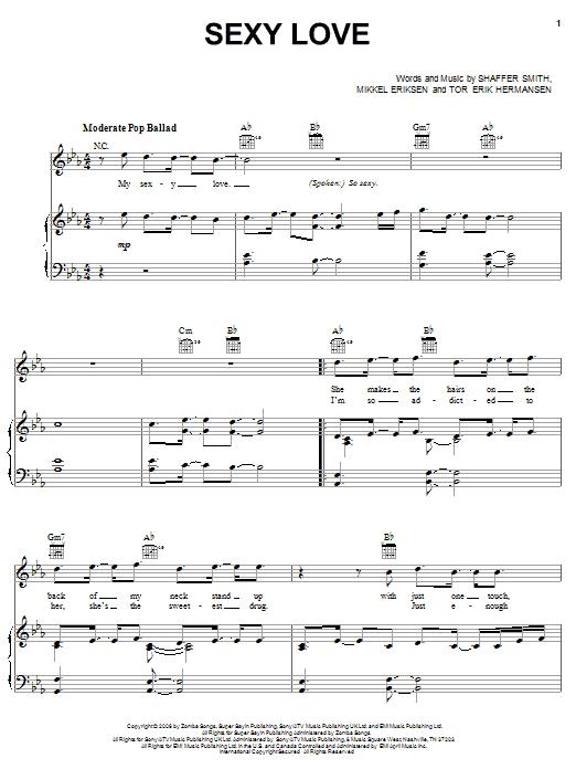 Ne-Yo Sexy Love sheet music notes and chords. Download Printable PDF.