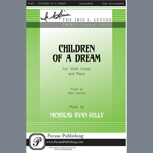 Easily Download Nicholas Kelly Printable PDF piano music notes, guitar tabs for SSA Choir. Transpose or transcribe this score in no time - Learn how to play song progression.
