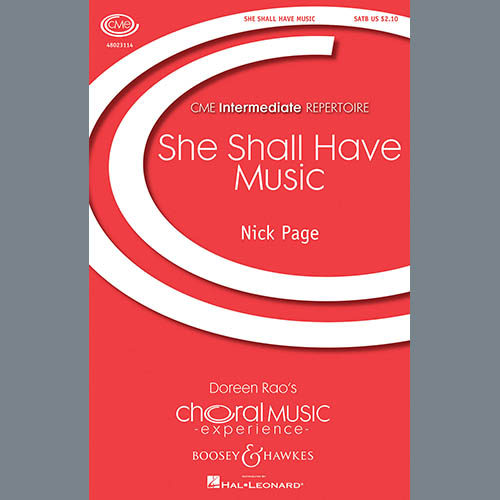 Easily Download Nick Page Printable PDF piano music notes, guitar tabs for SATB Choir. Transpose or transcribe this score in no time - Learn how to play song progression.