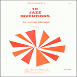 Download Niehaus '10 Jazz Inventions' Printable PDF 22-page score for Jazz / arranged Brass Ensemble SKU: 124812.