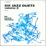 Download or print Niehaus Six Jazz Duets, Volume 2 Sheet Music Printable PDF 20-page score for Jazz / arranged Brass Ensemble SKU: 124816.