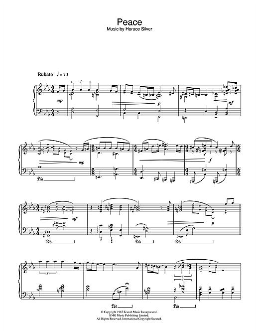 Norah Jones Peace sheet music notes and chords. Download Printable PDF.