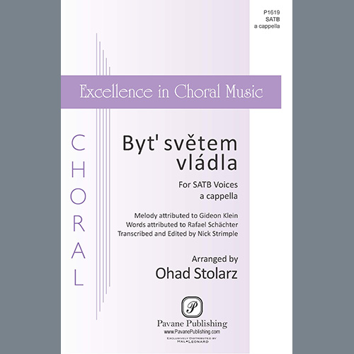 Easily Download Ohad Stolarz Printable PDF piano music notes, guitar tabs for SATB Choir. Transpose or transcribe this score in no time - Learn how to play song progression.