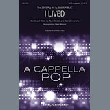 Download or print Deke Sharon I Lived Sheet Music Printable PDF 14-page score for A Cappella / arranged SATB Choir SKU: 186466.