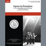 Download Oscar Peterson 'Hymn to Freedom (arr. Jim Clancy)' Printable PDF 4-page score for Barbershop / arranged SSA Choir SKU: 432522.