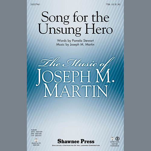 Easily Download Pamela Stewart & Joseph M. Martin Printable PDF piano music notes, guitar tabs for TTBB Choir. Transpose or transcribe this score in no time - Learn how to play song progression.