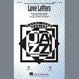 Download Paris Rutherford 'Love Letters - Guitar' Printable PDF 2-page score for Jazz / arranged Choir Instrumental Pak SKU: 269831.
