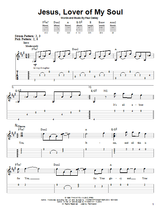 Passion Band Jesus, Lover Of My Soul sheet music notes and chords. Download Printable PDF.