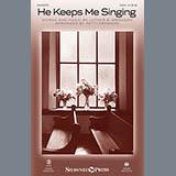Download or print Luther B. Bridgers He Keeps Me Singing (arr. Patti Drennan) Sheet Music Printable PDF 10-page score for Gospel / arranged SATB Choir SKU: 159556.