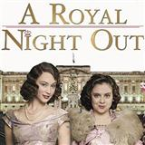 Download Paul Englishby 'Café In Paris (from 'A Royal Night Out')' Printable PDF 2-page score for Film/TV / arranged Piano Solo SKU: 121444.
