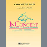 Download or print Paul Lavender Carol of the Drum - Eb Baritone Saxophone Sheet Music Printable PDF 1-page score for Christmas / arranged Concert Band SKU: 345716.