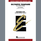 Download Paul Lavender 'Olympic Fanfare (Bugler's Dream) - Conductor Score (Full Score)' Printable PDF 4-page score for Inspirational / arranged Orchestra SKU: 326818.