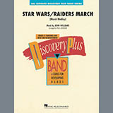 Download Paul Lavender 'Star Wars/Raiders March - Bb Bass Clarinet' Printable PDF 1-page score for Classical / arranged Concert Band SKU: 364614.
