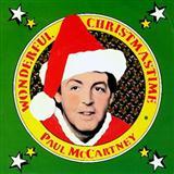 Download Paul McCartney 'Wonderful Christmastime' Printable PDF 6-page score for Christmas / arranged Accordion SKU: 160486.