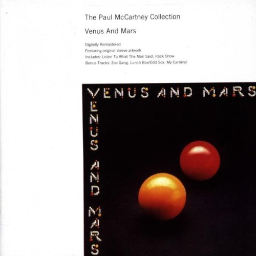Paul McCartney & Wings, Venus And Mars, Piano, Vocal & Guitar (Right-Hand Melody)