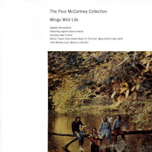 Paul McCartney & Wings, Wild Life, Piano, Vocal & Guitar
