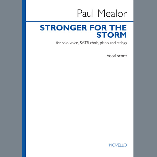 Easily Download Paul Mealor Printable PDF piano music notes, guitar tabs for SATB Choir. Transpose or transcribe this score in no time - Learn how to play song progression.