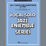 Download Paul Murtha 'All I Want for Christmas Is You - Bass' Printable PDF 2-page score for Christmas / arranged Jazz Ensemble SKU: 370100.