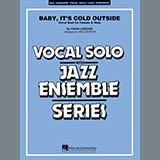 Download or print Paul Murtha Baby, It's Cold Outside (Key: C) - Trumpet/Tenor Sax (Vocal Alt.) Sheet Music Printable PDF 3-page score for Christmas / arranged Jazz Ensemble SKU: 341461.