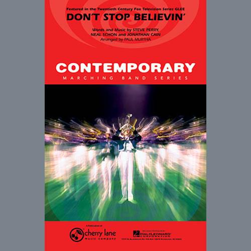 Paul Murtha, Don't Stop Believin' - Eb Baritone Sax, Marching Band