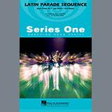 Download Paul Murtha 'Latin Parade Sequence - Eb Baritone Sax' Printable PDF 1-page score for Latin / arranged Marching Band SKU: 339100.
