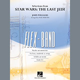 Download Paul Murtha 'Selections from Star Wars: The Last Jedi - Percussion 1' Printable PDF 2-page score for Classical / arranged Concert Band SKU: 375909.