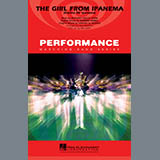 Download Paul Murtha 'The Girl From Ipanema (Garota De Ipanema) - Bb Horn/Flugelhorn' Printable PDF 1-page score for Jazz / arranged Marching Band SKU: 305399.