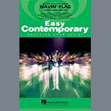 Download Paul Murtha 'Wavin' Flag - Eb Baritone Sax' Printable PDF 1-page score for African / arranged Marching Band SKU: 339269.