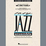 Download Paul Murtha 'We Are Family - Conductor Score (Full Score)' Printable PDF 12-page score for Disco / arranged Jazz Ensemble SKU: 361259.