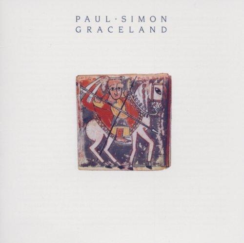 Paul Simon, Graceland, Piano, Vocal & Guitar (Right-Hand Melody)
