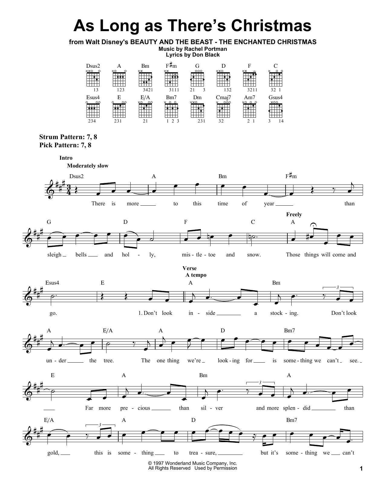 Peabo Bryson & Roberta Flack As Long As There's Christmas sheet music notes and chords. Download Printable PDF.