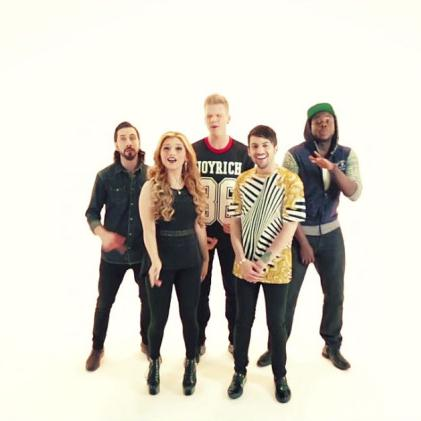 Easily Download Pentatonix Printable PDF piano music notes, guitar tabs for Piano, Vocal & Guitar (Right-Hand Melody). Transpose or transcribe this score in no time - Learn how to play song progression.