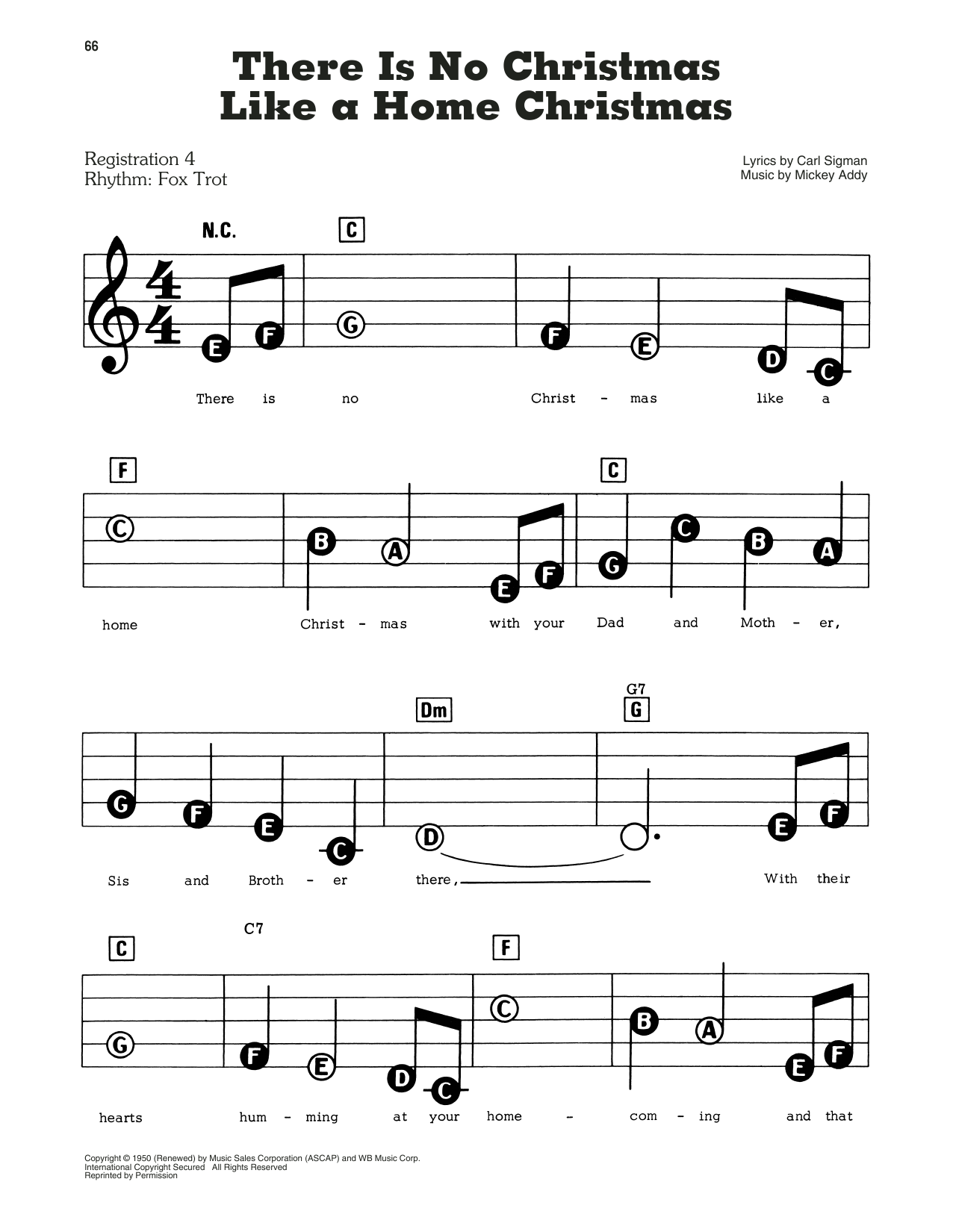 Perry Como There Is No Christmas Like A Home Christmas sheet music notes and chords. Download Printable PDF.