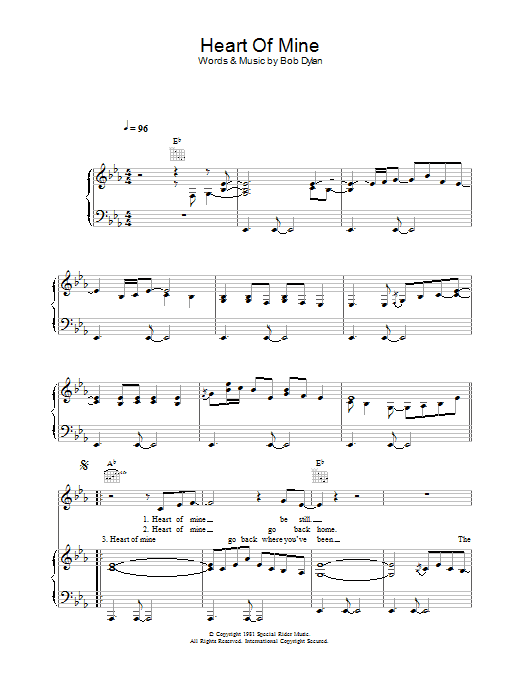Peter Malick & Norah Jones Heart Of Mine sheet music notes and chords. Download Printable PDF.