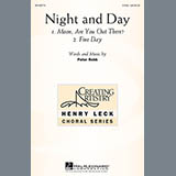 Download or print Peter Robb Night And Day Sheet Music Printable PDF 20-page score for Concert / arranged 2-Part Choir SKU: 158190.