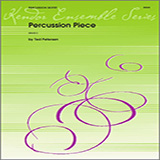 Download Petersen 'Percussion Piece - Percussion 4' Printable PDF 1-page score for Concert / arranged Percussion Ensemble SKU: 343627.