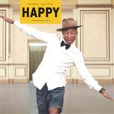 Download or print Pharrell Happy Sheet Music Printable PDF 3-page score for Rock / arranged Big Note Piano SKU: 169660.