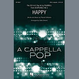 Download or print Pharrell Williams Happy (arr. Deke Sharon) Sheet Music Printable PDF 11-page score for A Cappella / arranged SSA Choir SKU: 158670.