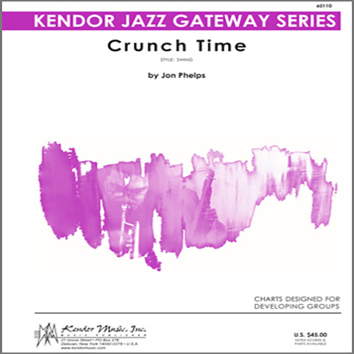 Easily Download Phelps Printable PDF piano music notes, guitar tabs for Jazz Ensemble. Transpose or transcribe this score in no time - Learn how to play song progression.