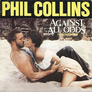 Download or print Phil Collins Against All Odds (Take A Look At Me Now) Sheet Music Printable PDF 3-page score for Rock / arranged Piano Chords/Lyrics SKU: 87374.